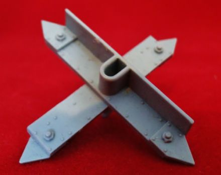 Large Barricade Cross Spikes from Warhammer 40,000 3rd edition